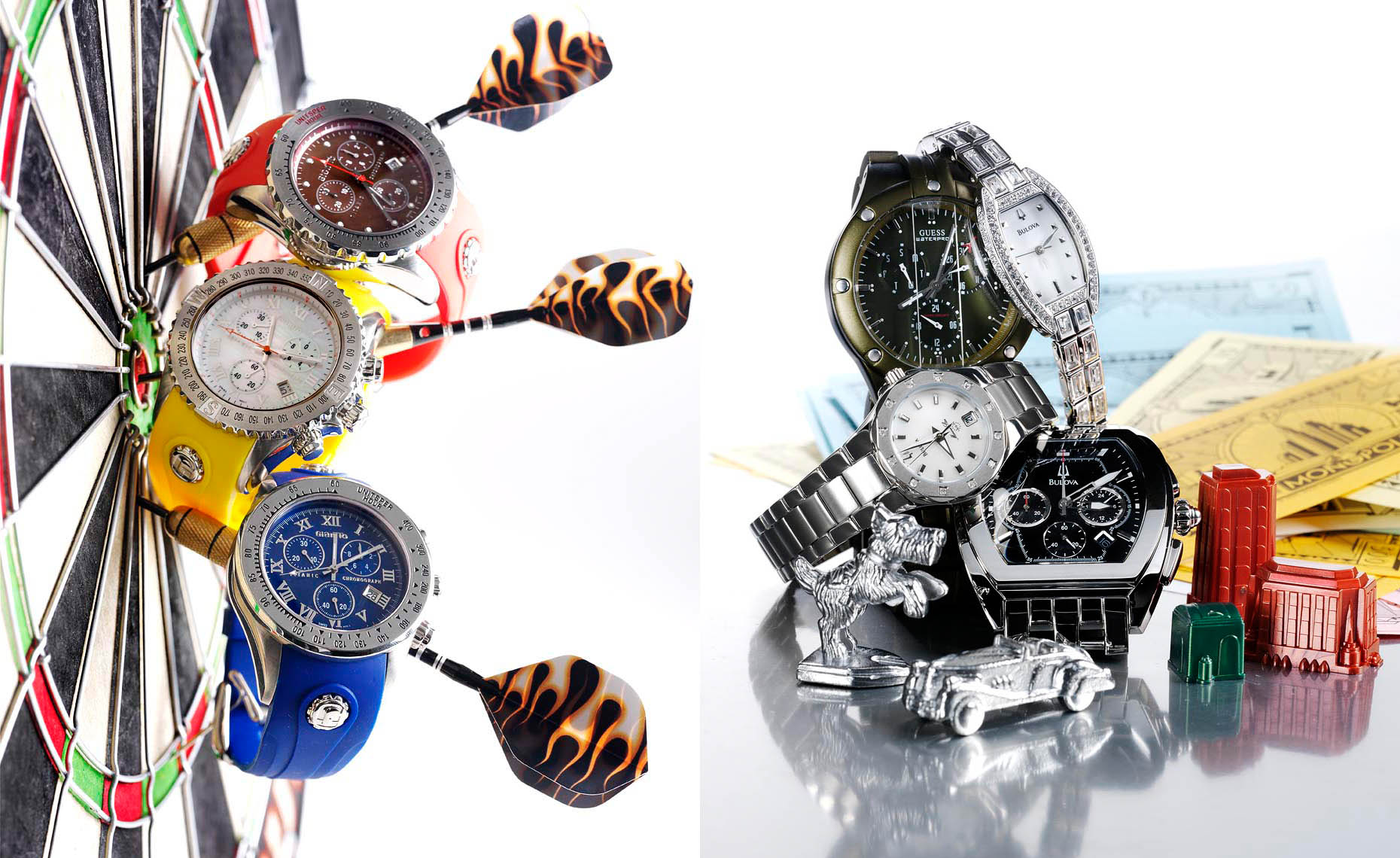 Accessories Still Life, Casual Watches