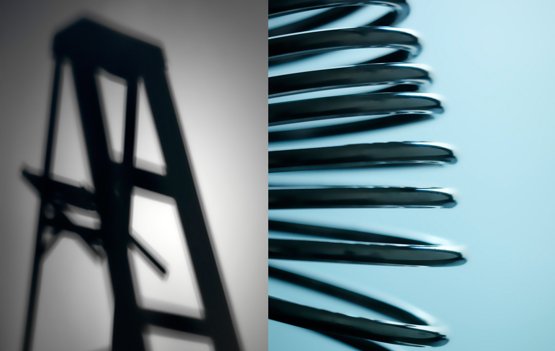 Conceptual Still Life,  Abstraction of Ladder