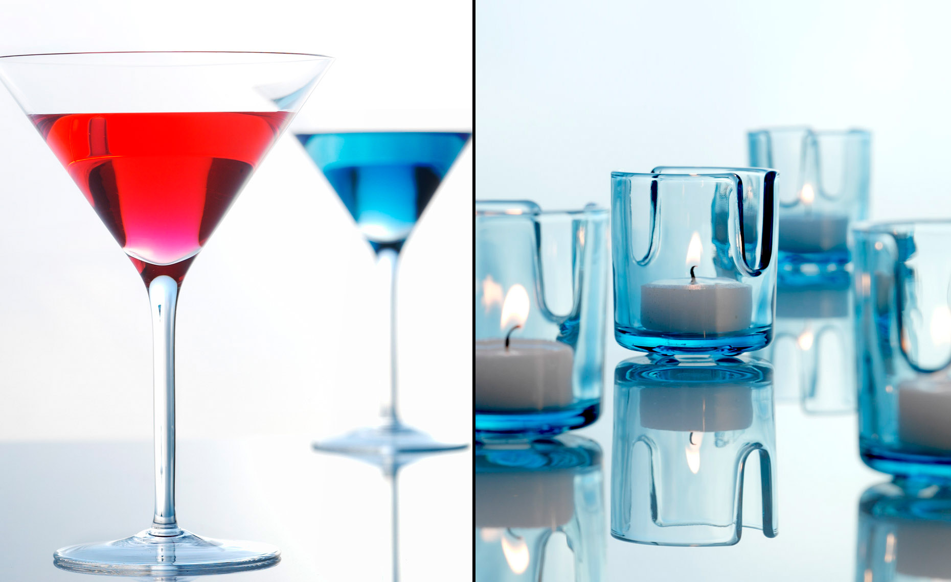 Product Still Life, Home Accessories | Cocktail Glassware