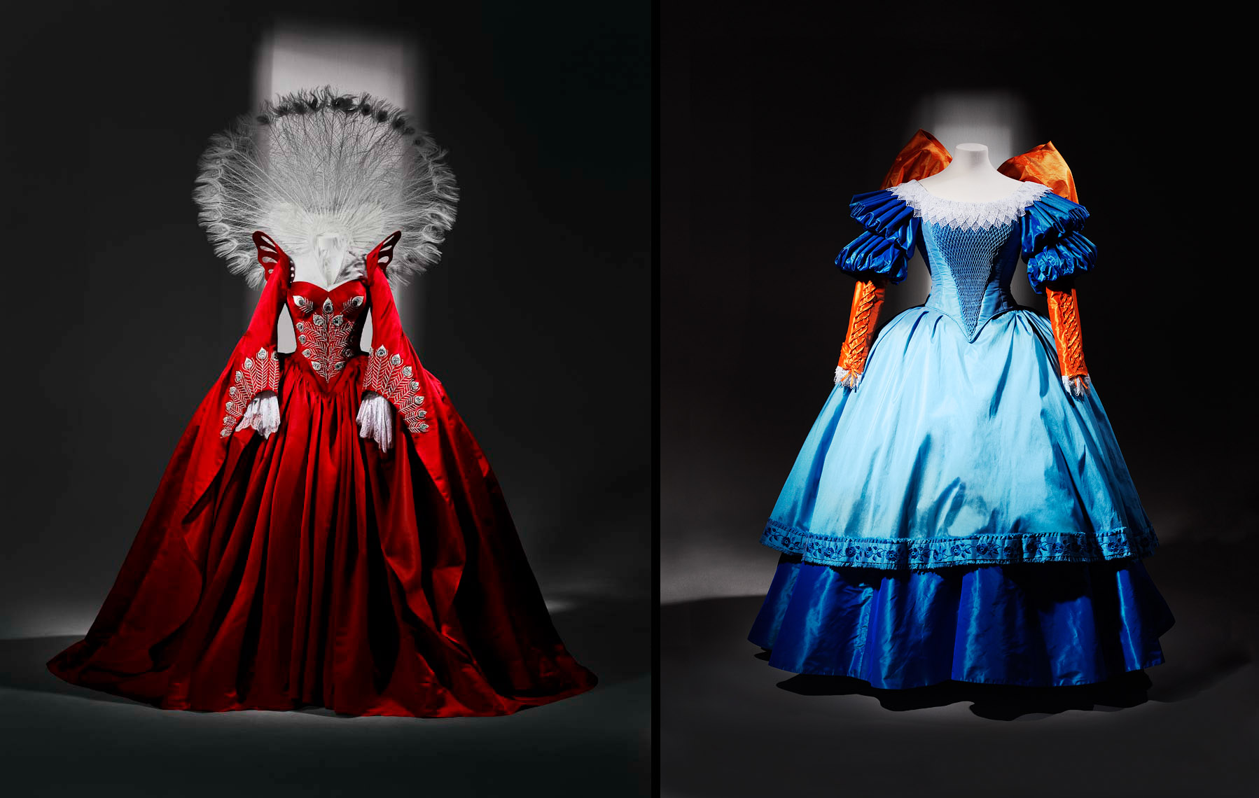 Costume Dress for Julia Roberts and Lily Collins as Snow White in Mirror Mirror