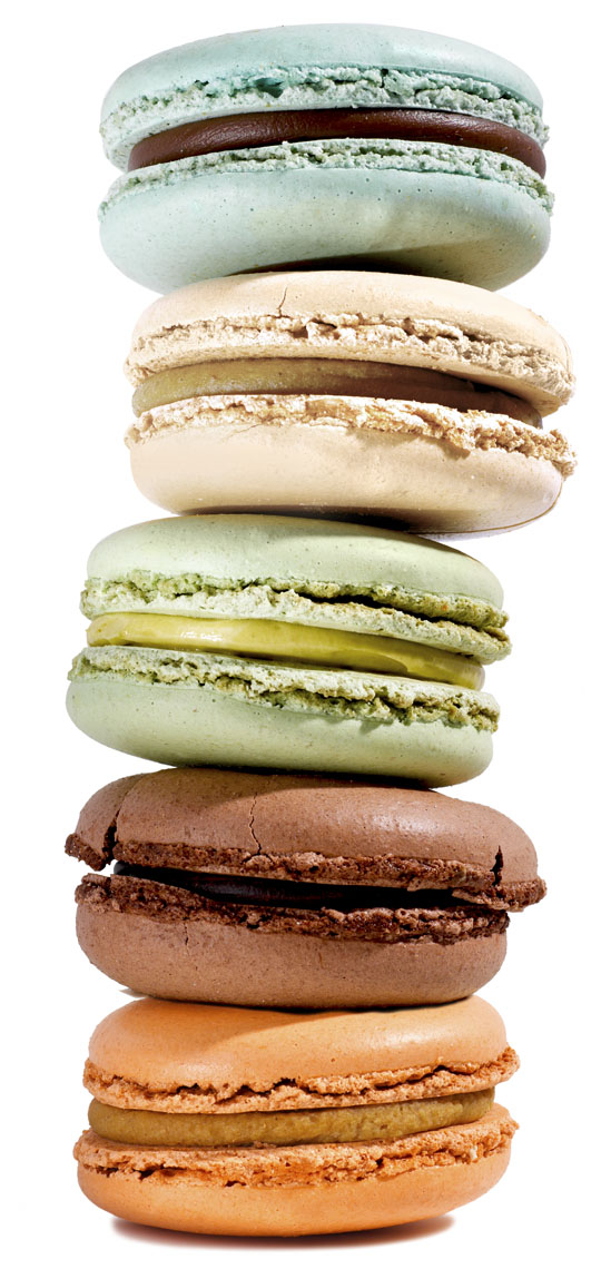 Food Still Life, Macaroons - Colorful Stack