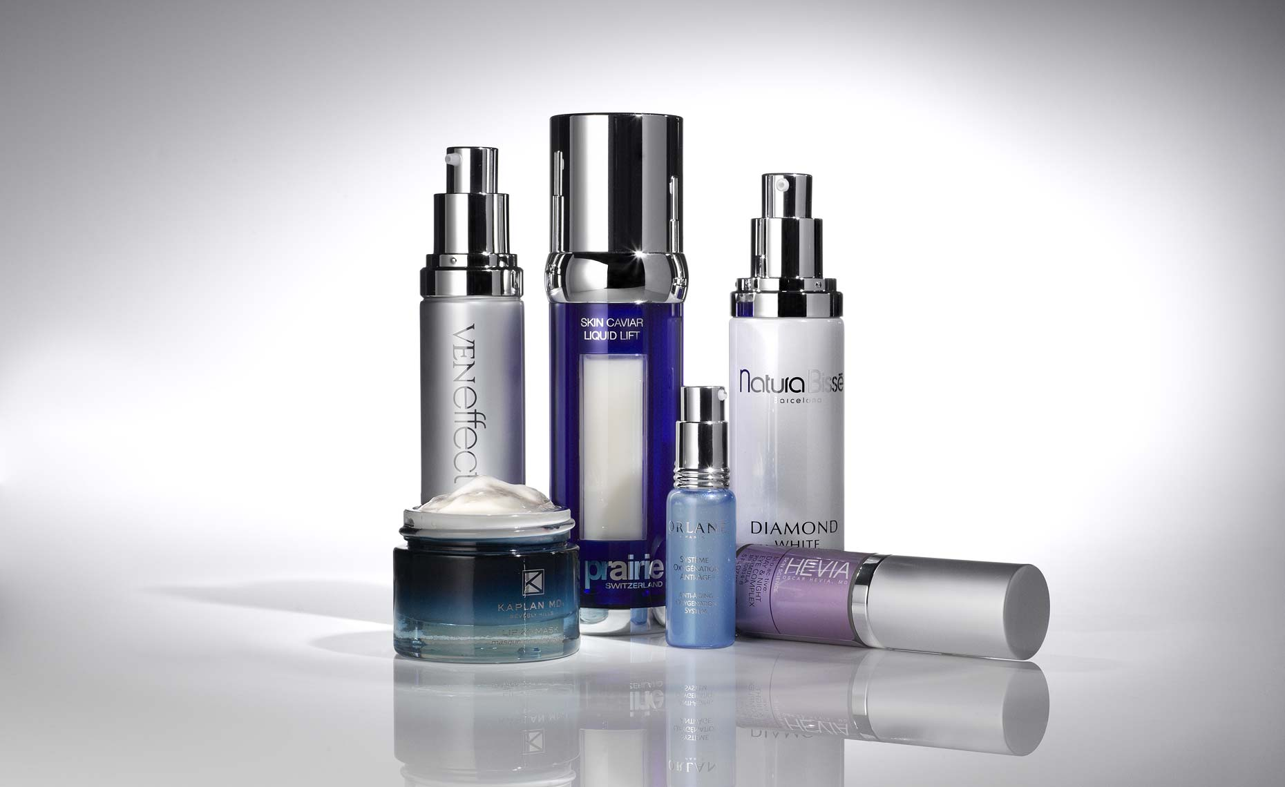 Cosmetics, Anti Aging Lotions Product Shot - Mike Lorrig