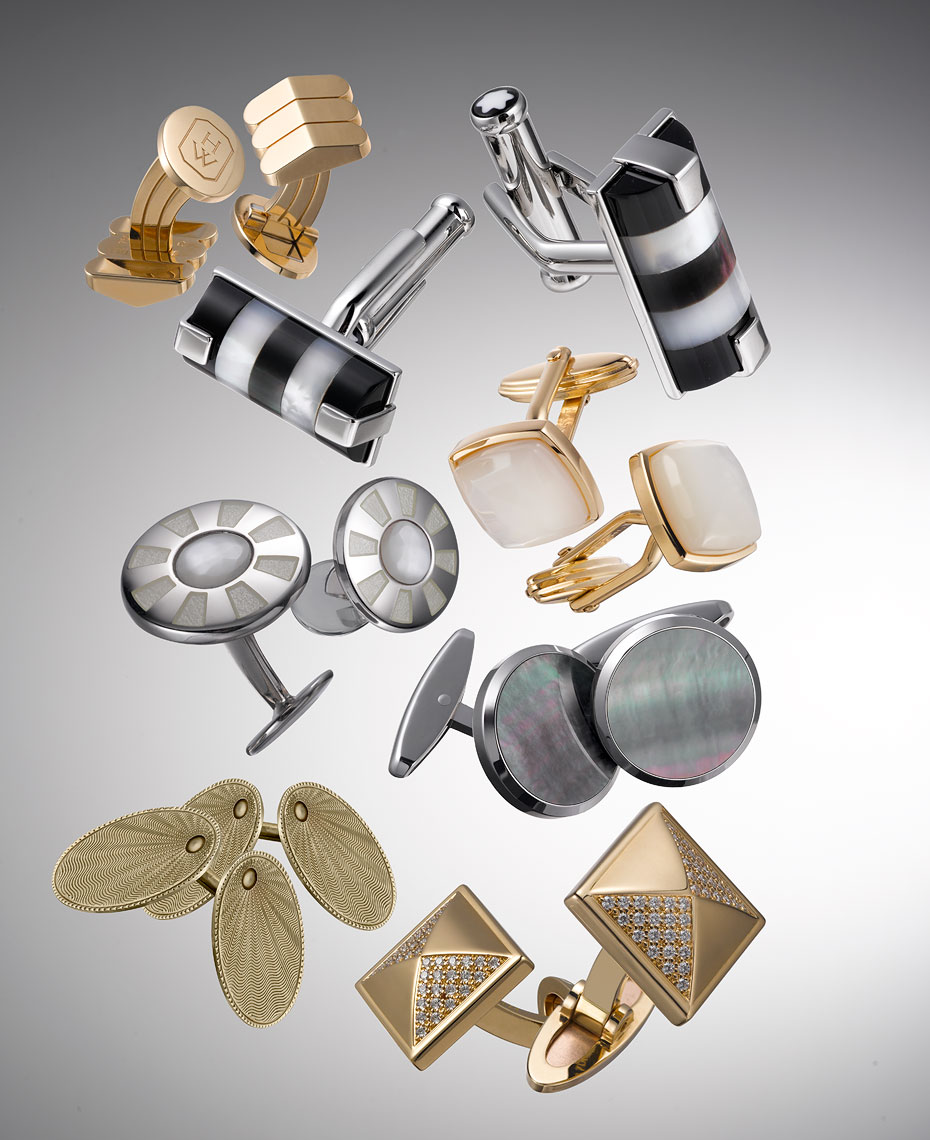 Jewelry Still Life | Designer Cufflinks Style Guide