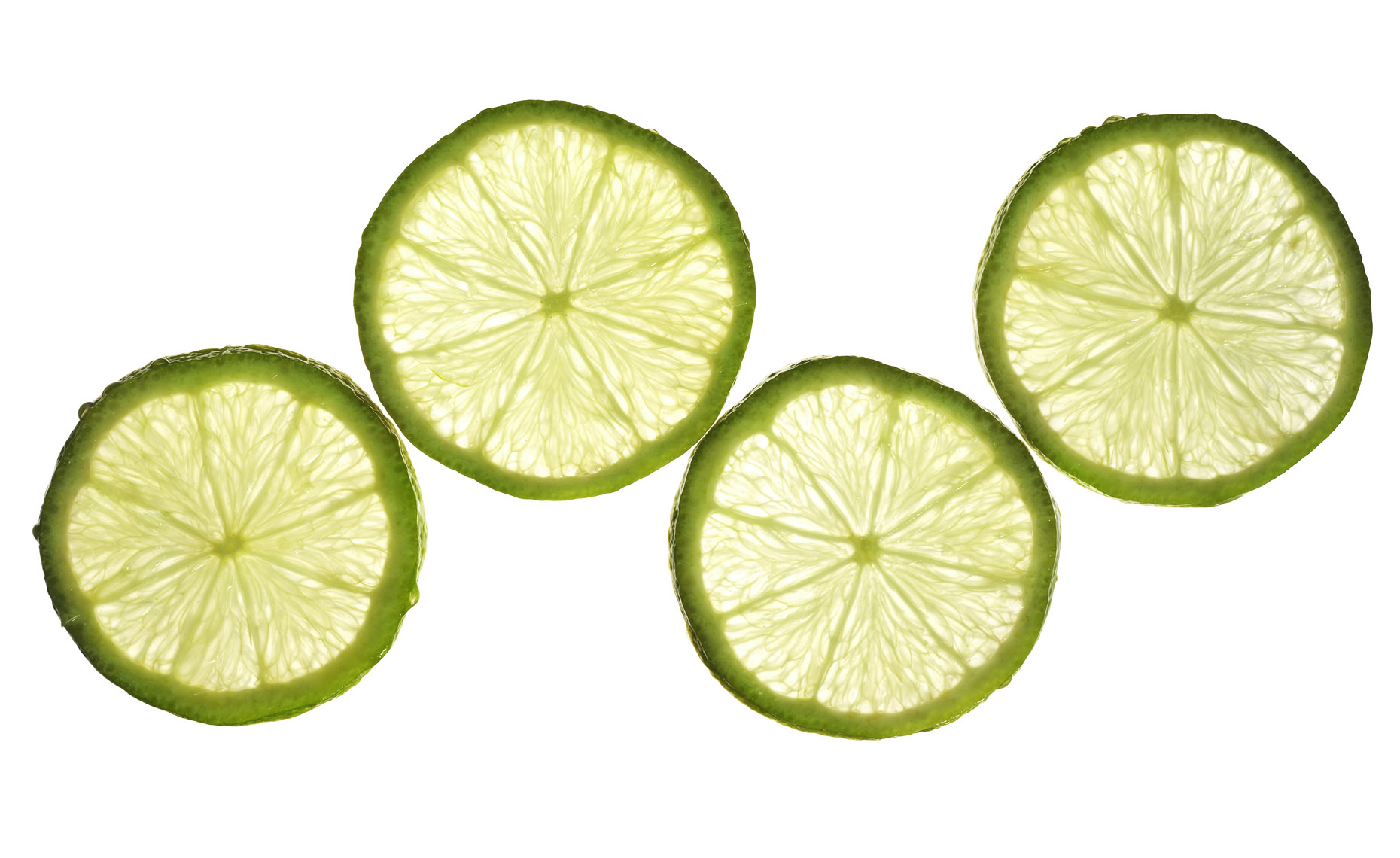 Food Still Life, Lime Slices