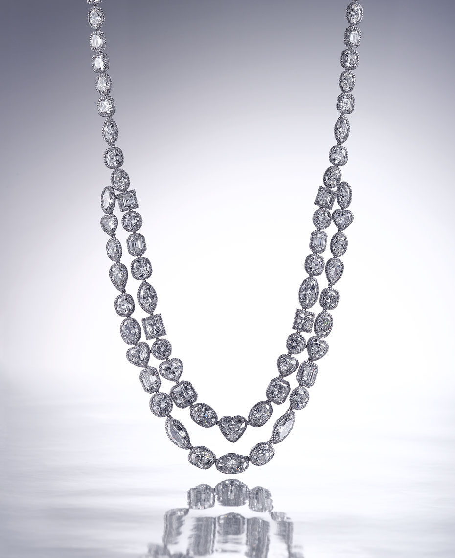 Jewelry Still Life | Diamond Necklace