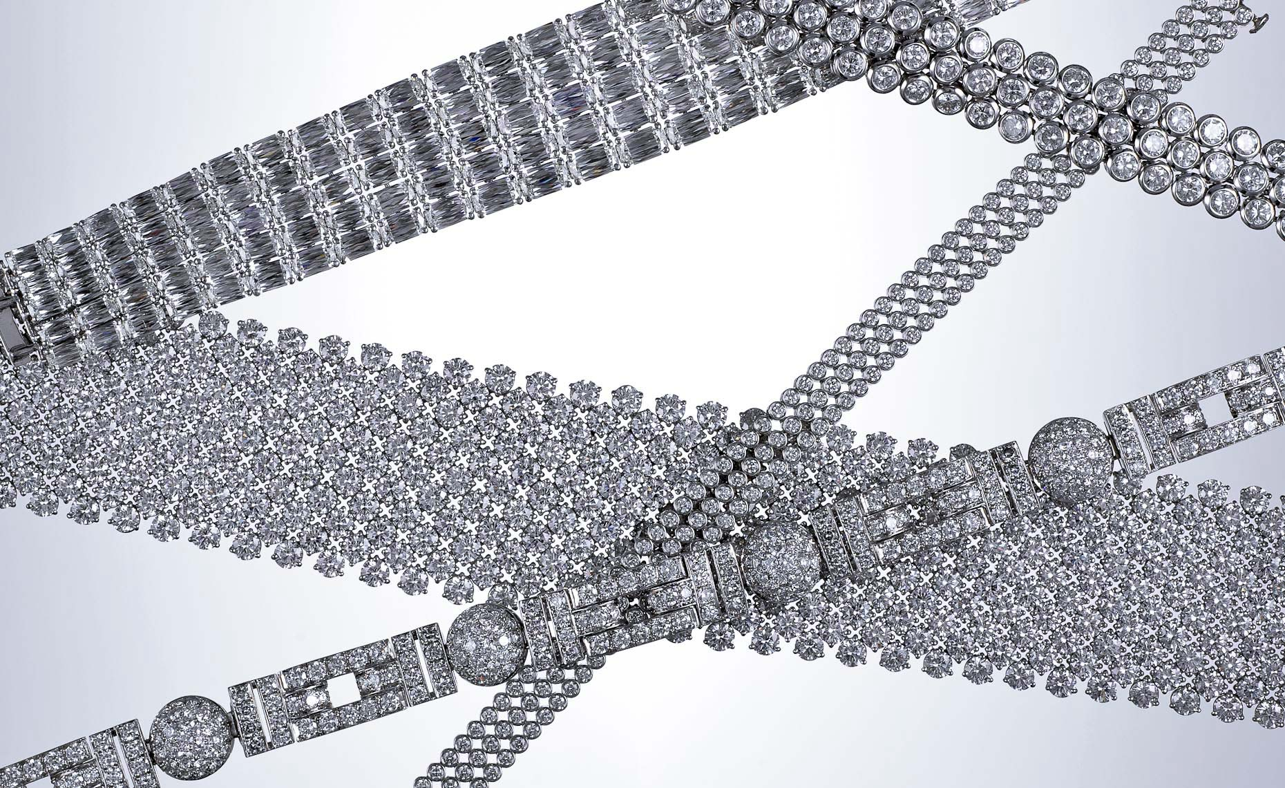 Jewelry Still Life | Diamond Bracelets