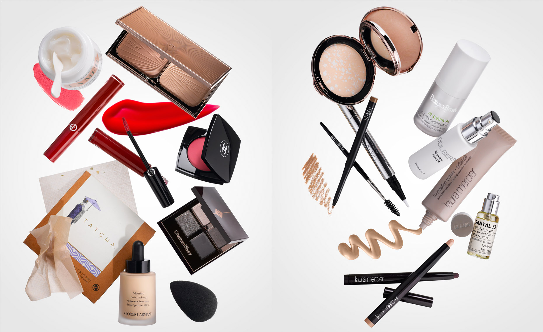 Cosmetics Still Life, Celebrity Beauty Essentials