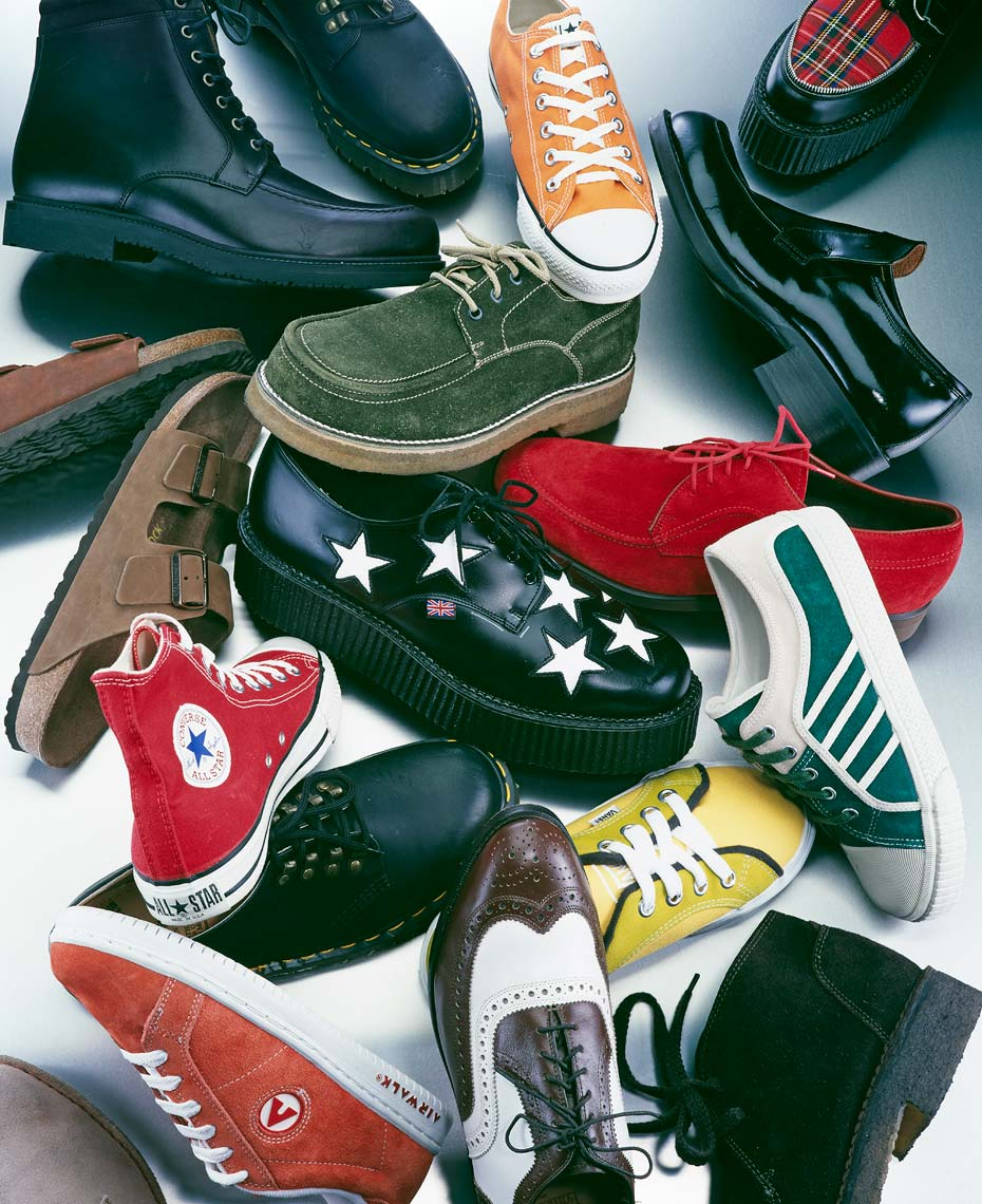 Accessories Still Life | Sneakers and Shoes