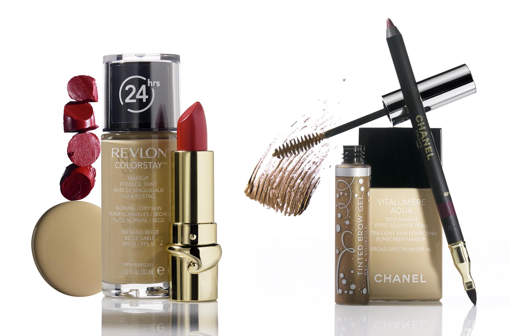 Cosmetics, Revlon and Chanel Beauty Products - Mike Lorrig