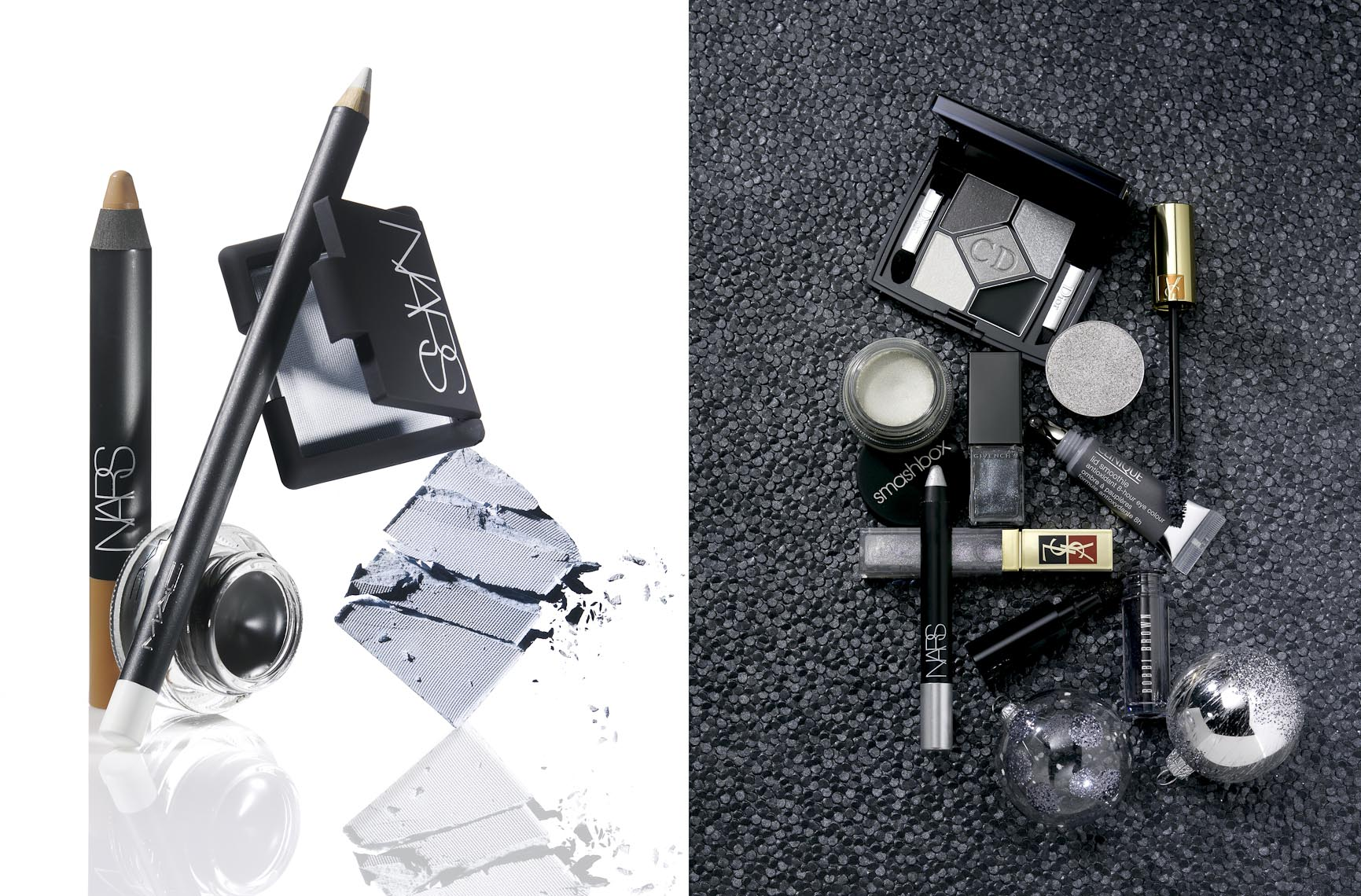 Cosmetics, Eye Makeup in Shades of Gray - Mike Lorrig
