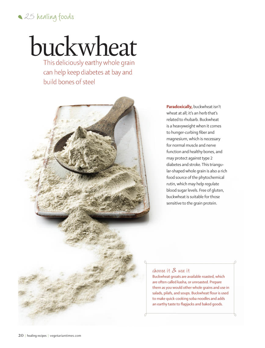 Food Still Life, Buckwheat Flour