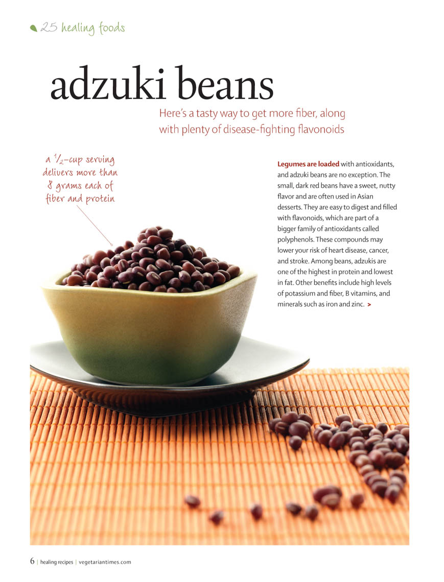 Food Still Life, Adzuki Beans Uncooked In Bowl On Placemat