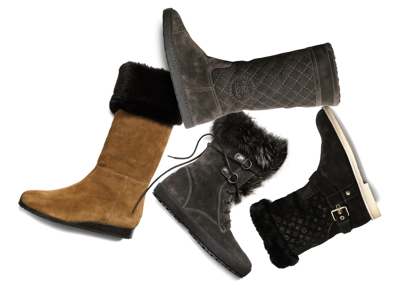 Accessories Still Life | Winter Boots