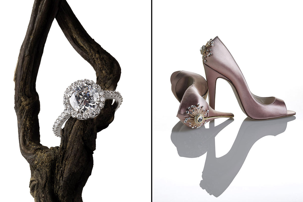 Accessories Still Life, Ring and High Heels