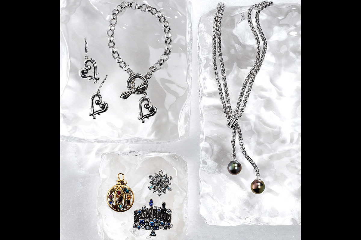 Jewelry Still Life, Necklaces and Earrings